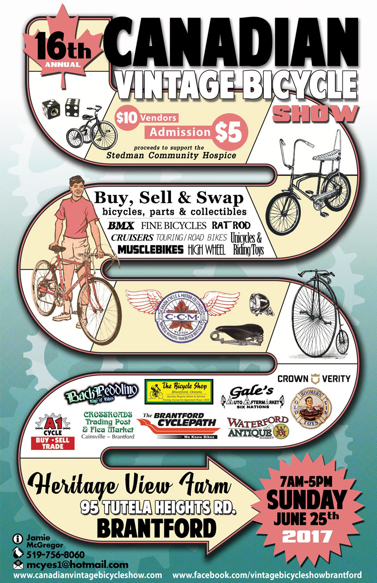 Canadian Vintage Bicycle Show