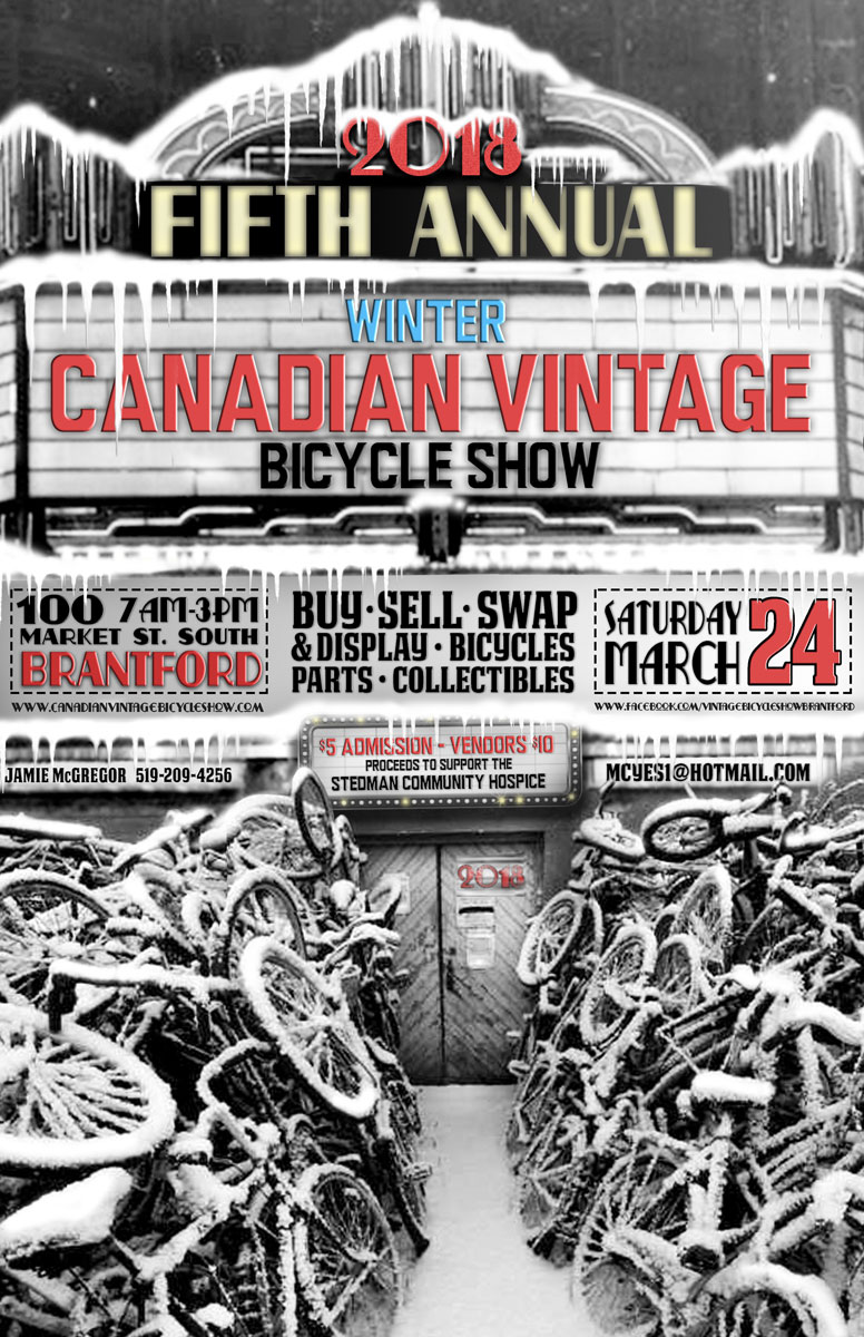 Winter Canadian Vintage Bicycle Show